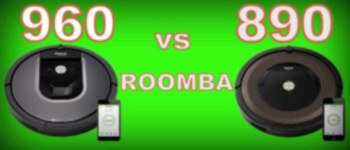 Roomba 890 VS 960 FP