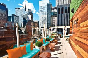 Sanctuary Hotel NYC Heaven Rooftop