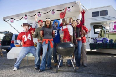Homecoming Game Tailgate for Fun