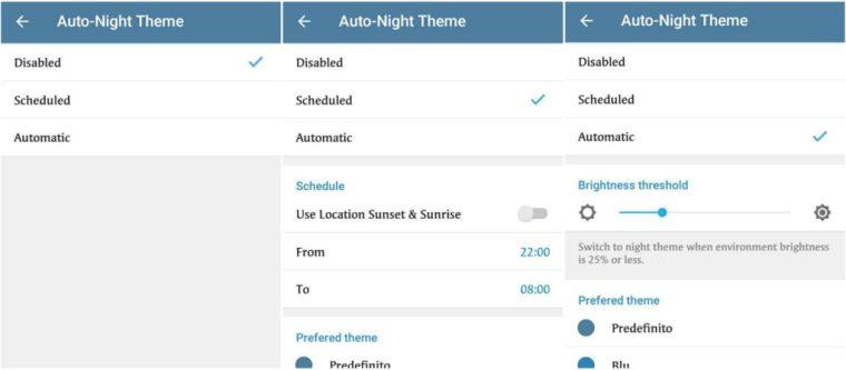 telegram 4.8 beta-tema-autho night