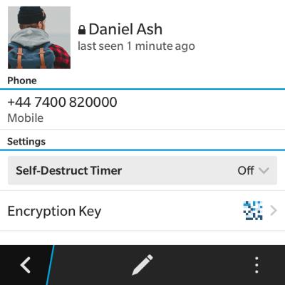 chat segreta in Telegram informazioni sulla chat
