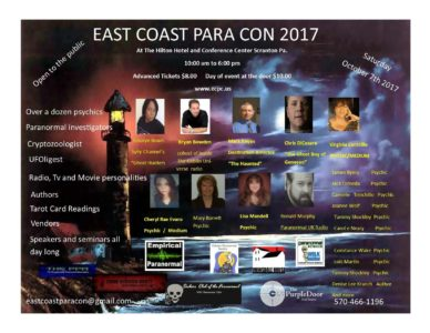 Bryan Bowden to Present at East Coast Para Con