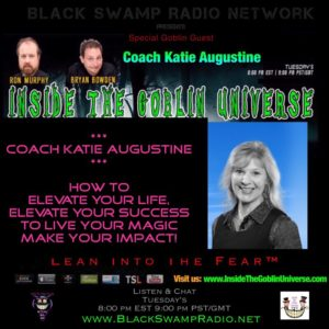 Coach Katie Augustine joins the Goblin Universe – tonight 1/9/18