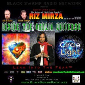 Psychic Medium Riz Mirza on the next Inside The Goblin Universe