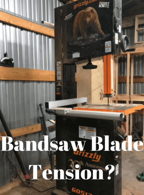 Bandsaw Blade Tension?