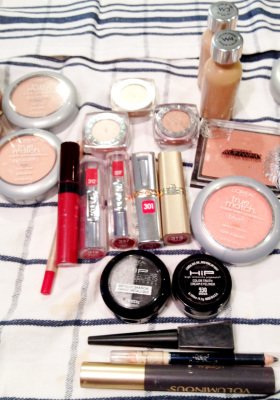 Products L'Oreal Paris Pro Makeup Artist Brandy Gomez-Duplessis used on Garance Dore for CFDA