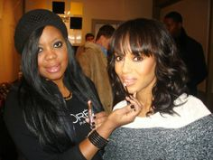Brandy Gomez-Duplessis and Kerry Washington at Sundance Film Fest