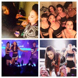 Connecticut Makeup Artist Brandy Gomez-Duplessis for NBA Ariana Grande performance