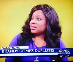 Connecticut Makeup Artist Brandy Gomez-Duplessis on NBC Connecticut