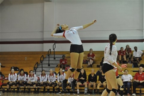 Cadets sweep Elizabeth Seton to kick off the season