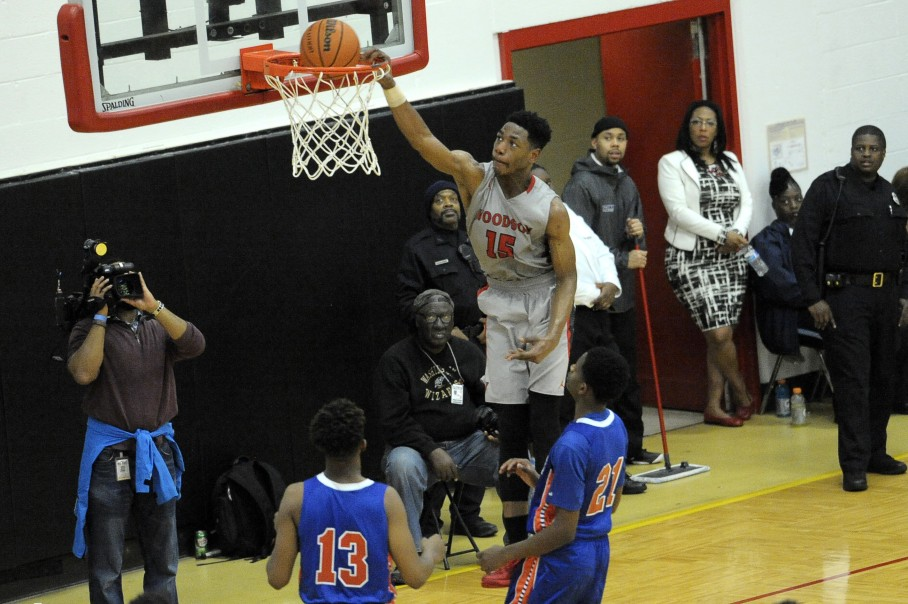 Former H.D. Woodson SF Antwan Walker commits to Georgetown