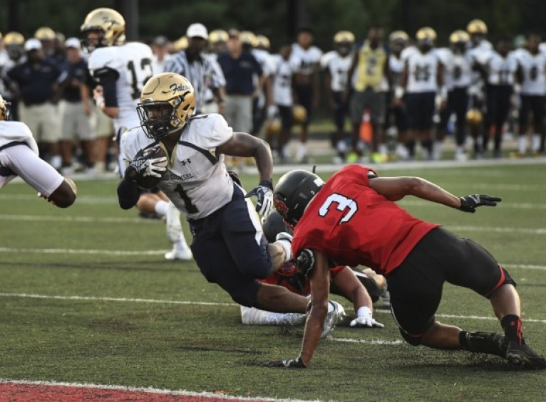 Good Counsel running back Mohamed Ibrahim has rushed for 1,167 yards and 16 touchdowns this year (Photo Courtesy: www.washingtonpost.com)
