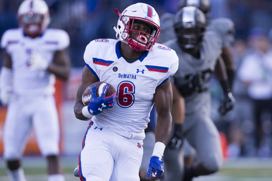 DeMatha loses to Bishop Gorman, 35-23