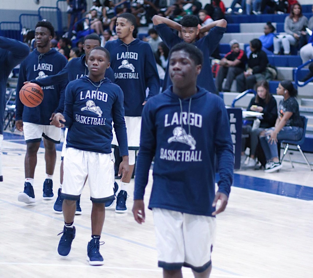 Largo will rely on experience to take them to next level
