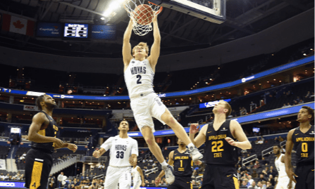 Mac McClung drops 38 points in Hoyas' OT win over Little Rock