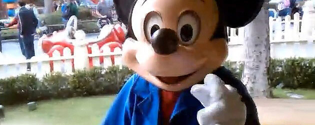 Talking mickey mouse meet and greet tests continue at disneyland talking mickey mouse meet and greet tests continue at disneyland now outside the mouses house m4hsunfo Images