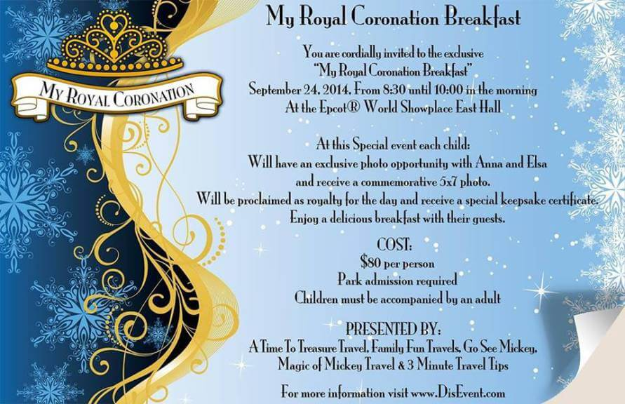 Anna and Elsa to appear in My Royal Coronation event at Walt