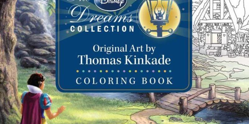 The Disney Dreams Collection Original Art By Thomas Kinkade Coloring