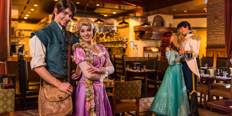 Dine with rapunzel flynn rider ariel and prince eric in new walt dine with rapunzel flynn rider ariel and prince eric in new walt disney world character breakfast m4hsunfo