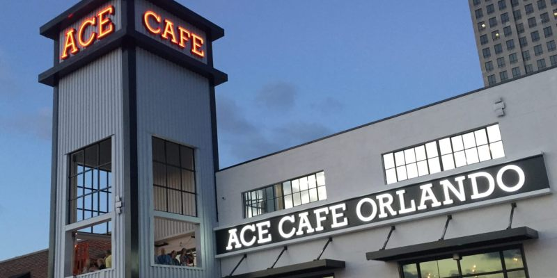 Londonfamous Ace Cafe Officially Opens First US Location In Orlando - Ace cafe orlando car show