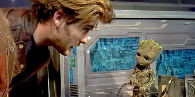 Video baby groot is possibly the cutest walt disney world meet and video baby groot is possibly the cutest walt disney world meet and greet ever now appearing alongside star lord m4hsunfo