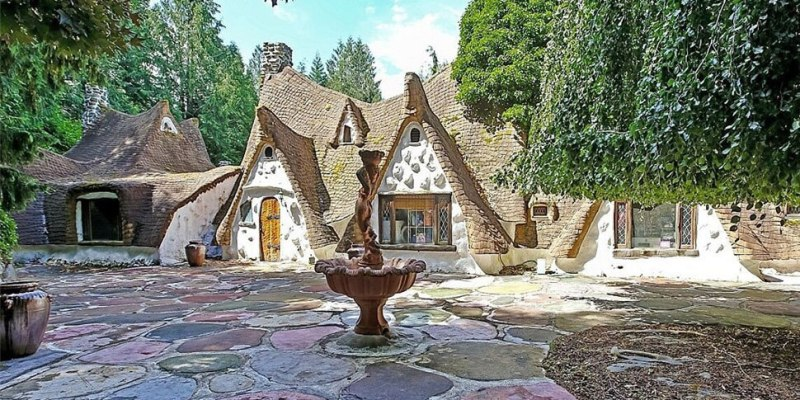 Snow Whites Cottage inspired house is the perfect Disney home and