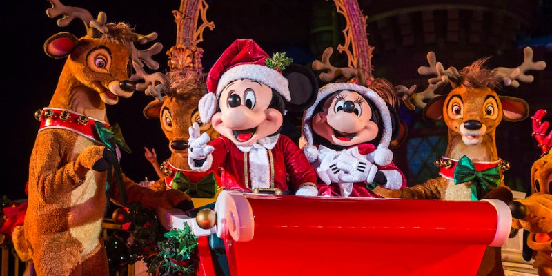 walt disney world announces 2017 holiday offerings including mickeys very merry christmas party