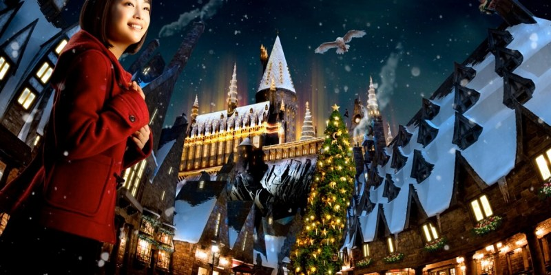 universal studios japan announces harry potter christmas universal wonder holiday events