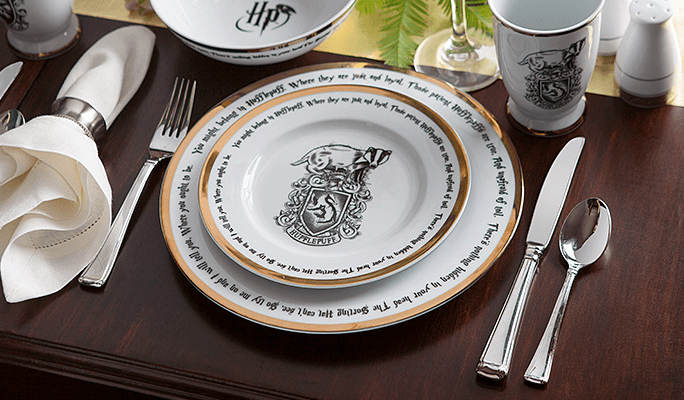 Each Hogwarts House gets a place at the table with Harry Potter ...