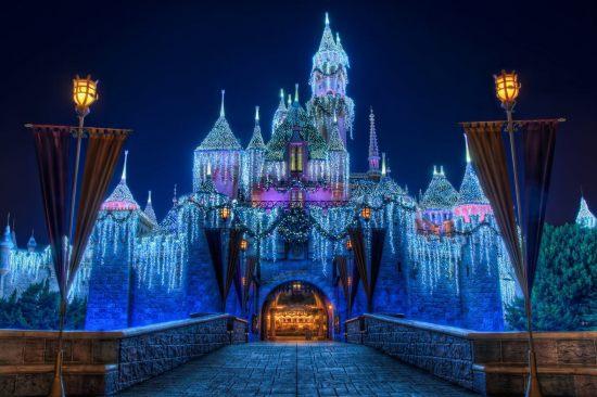 Sleeping Beauty's Winter Castle