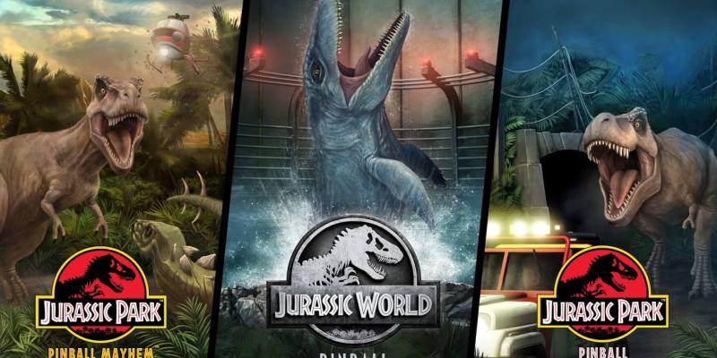 Jurassic World Pinball roars onto Pinball FX3 today for all major ...