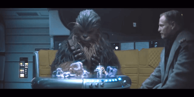 clips from Solo: A Star Wars Story
