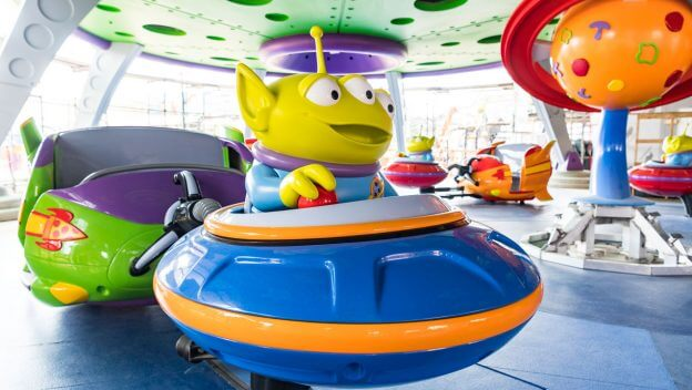 Photos Closer Look At Alien Swirling Saucers Encounter With Green
