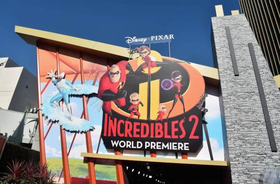 Incredibles 2 world premiere