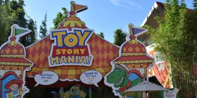 Entrance Toy Story Mania!