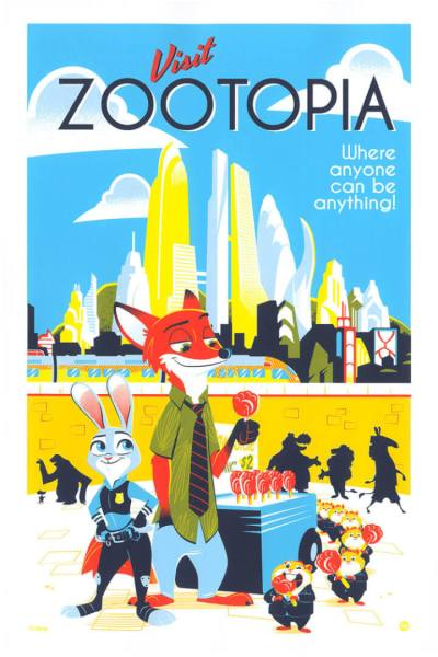 Disney travel posters