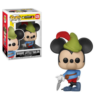 Mickey's 90th Funko POP! Brave Little Tailor