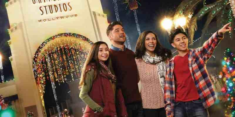 christmas at universal studios holidays at universal studios hollywood - When Does Universal Studios Hollywood Decorate For Christmas
