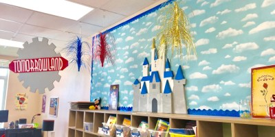 disney inspired classroom