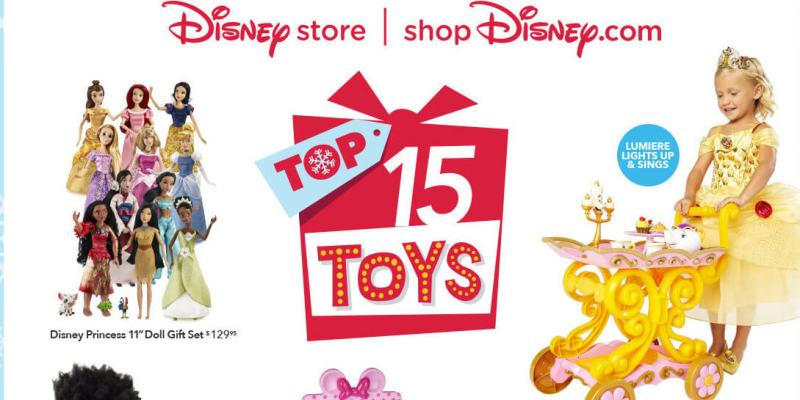 Disney holiday toys