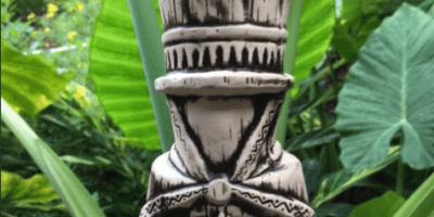 Hatbox Ghost Tiki Mug