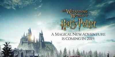 Harry Potter-themed roller coaster