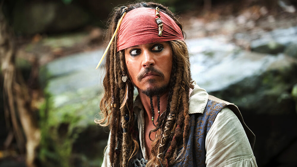 Johnny Depp 'axed' from Pirates Of The Caribbean