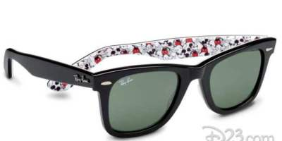 Mickey Mouse sunglasses by Ray Ban
