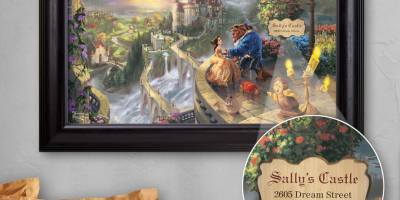 Thomas Kinkade personalized art