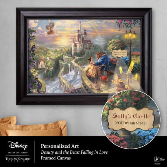 Disney's Beauty and the Beast Falling in Love
