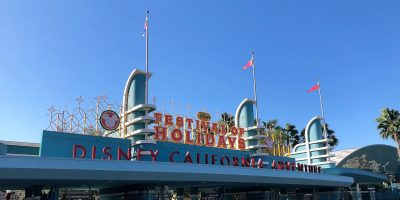 First Look: Disney California Adventure Festive Holiday Decorations
