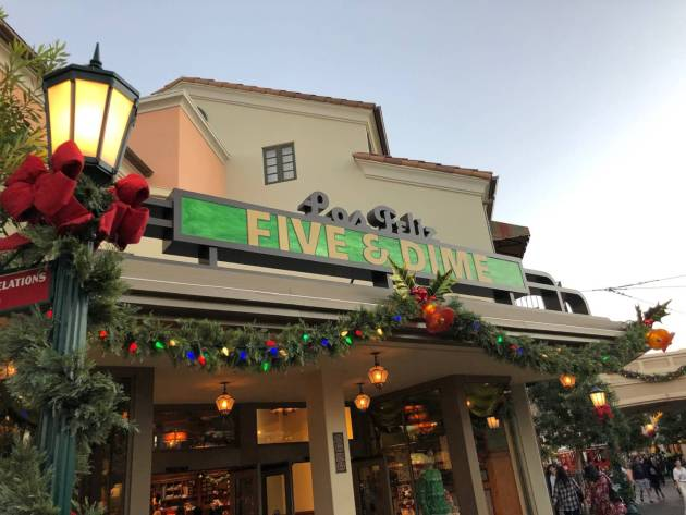 Disney California Adventure Holiday Decorations