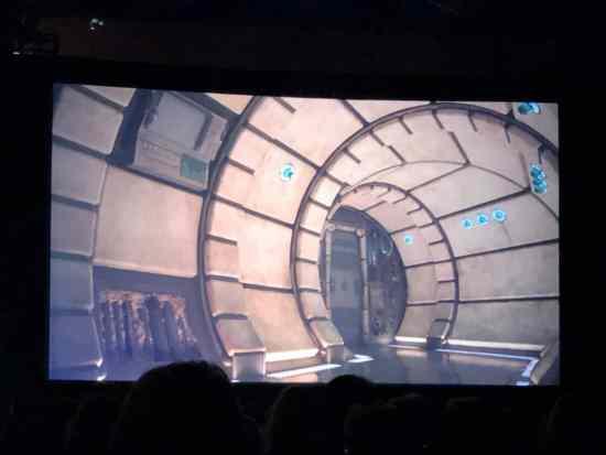 Millennium Falcon: Smugglers Run concept art