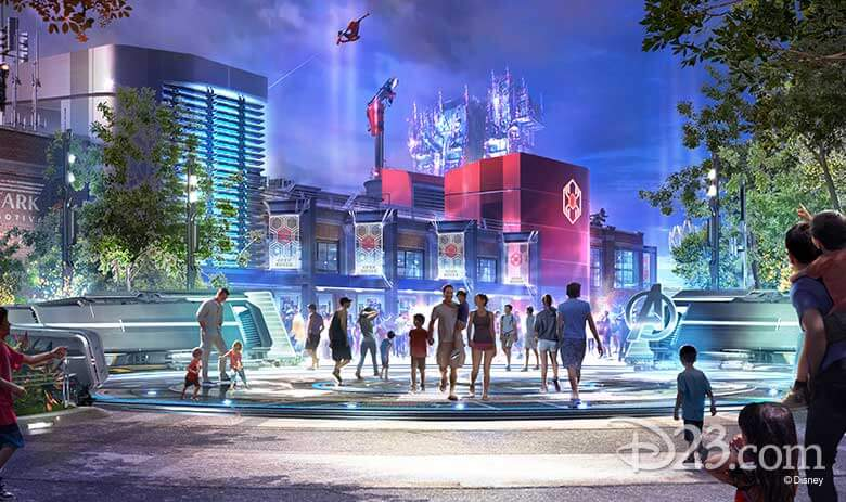 Disneyland's new Marvel attractions look pretty legit in new concept art